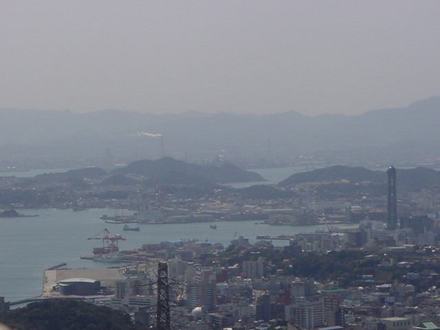 To the top and left of the tower in this picture you can see an island called, Hikoshima.  This island, the southernmost part of Shimonoseki City is where God is preparing people that you could have the opportunity with Him to reach with His salvation and living Word.